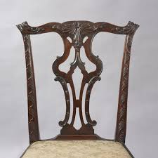 chippendale side chair. Pair Of Chippendale Side Chairs Chair