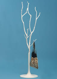 White Tree Coat Rack