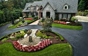 Small Picture Large estate landscape design and build Long tree lined driveway
