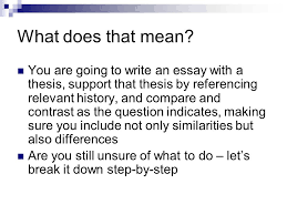 research essay proposal template simple essays for high school  comparative essay comparative writing ppt video online what