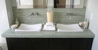 Design Amazing Glass Tile Backsplash In Bathroom Bathroom Glass Tile  Backsplash Bathroom Glass Tile