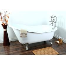 bathtubs idea claw foot tubs tub with shower vintage slipper inch cast iron clawfoot for