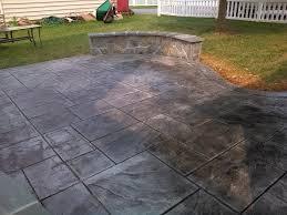 stamped concrete patio. Decorative Stamped Concrete Patio