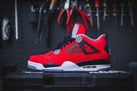jordan shoes retro 4. jordan retro 4 red toro shoes i