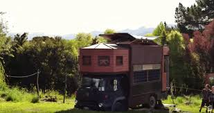Small Picture Watch this brilliant tiny house transform into a castle on wheels