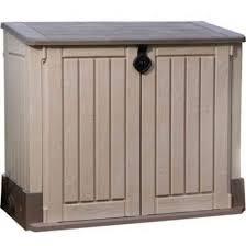 30 cu ft outdoor lawn deck storage box