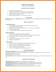 Resume Word Template Free Best Of Skill Based Resumeemplate Free Download Sample Skills Examples