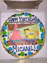 Ordered This For My Boyfriends 25th Birthday Spongebob