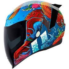 Icon Airflite Battlescar 2 Helmet Xtremehelmets Com