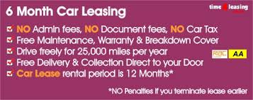 Best 6 - 12 Month Short Term Flexi Car Leasing At Time4Leasing
