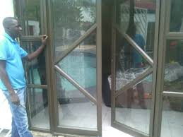 unique aluminium sliding doors repair installation glass replacing