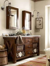 rustic bathroom double vanities. Interesting Rustic Full Size Of Classic Wooden Bathroom Vanity Mirror Ideas With Sink In  Middle Look For  On Rustic Double Vanities A