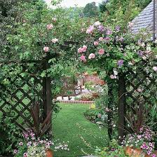 Small Picture 15 Beautiful Wooden Arches Creating Romantic Garden Design