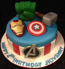 Avengers Birthday Cake Ideas Birthday Cakes Party Ideas