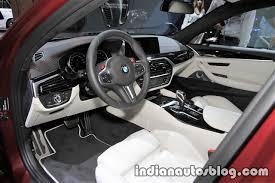2018 bmw m5 interior. plain bmw 2018 bmw m5 first edition interior at the iaa 2017 u2013 live throughout bmw m5