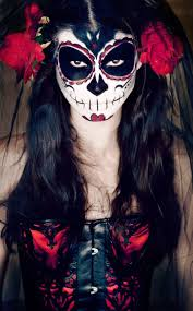 catrina day of the dead makeup
