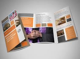 2 folded brochure template 2 panel brochure cevi design