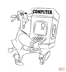 Coloring Pages For Kids On A Computer With Free Computer Coloring
