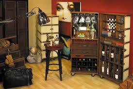 bar trunk furniture.  trunk amliving distressed furniture is brassbound u0026 includes classic desks  cabinets and modular units bar to trunk 0