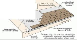 architectural shingles installation. Nail The Shingles Along Roof Starting With Bottom Of Roof. Architectural Installation O