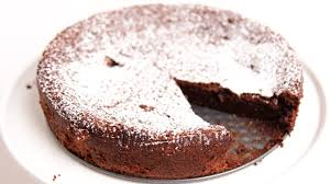 homemade flourless chocolate cake recipe laura vitale laura in the kitchen episode 775 you