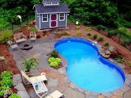 Excellent Ideas For Landscaping Around A Pool 40 Landscaping Around Magnificent Built In Swimming Pool Designs