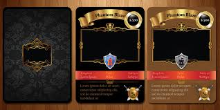 Trading Card Design Entry 17 By Webomagus For Trading Card Game Template Design With