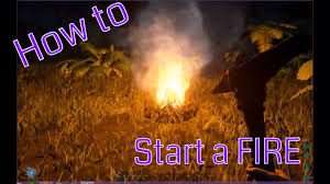 Ark Ps4 How To Light Campfire Ark How To Start A Fire
