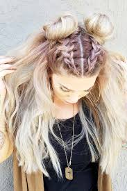 45 Easy Hairstyles For Spring Break Hair Zapletené Vlasy