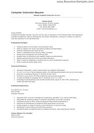 basic computer skills resumes template basic computer skills resumes