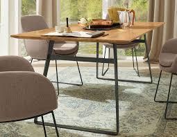 Musterring Tavia Tisch Ihr Marken Esstisch Aus Eiche Mit Metallgestell
