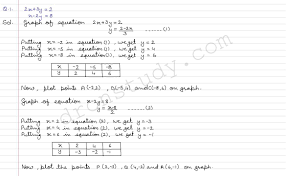 linear equations in two variables ex 3a q 1 to q 18 r s aggarawal dronstudy com