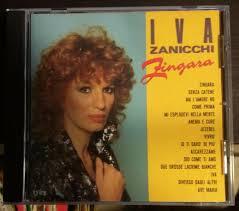 Iva Zanicchi Zingara CD Ricord CDOR 8782 1° Stampa No Barcode