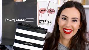 collective makeup haul 2017 mac sephora kylie cosmetics more