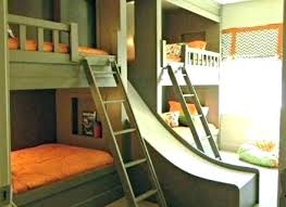 cool kids beds with slide. Cool Bunk Beds With Slides Girl Kids Bed Plans Expanded Your Mind Slide And Stairs Kidspace B