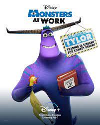 Nieuwe Monsters at Work karakterposters ...