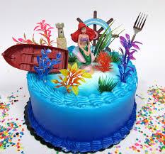 Amazoncom Little Mermaid Princess Ariel Themed Birthday Cake