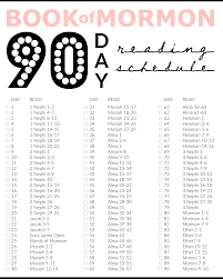 40 Day Book Of Mormon Reading Chart Miss Audrey Sue Blog Printable Book Of Mormon 90 Days