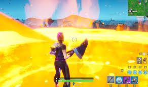 Fortnite: Touch a giant glowing cube, enter the rift above Loot Lake ...