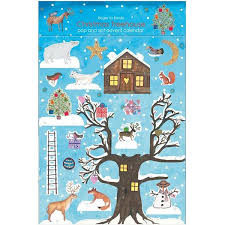 advent calander christmas treehouse pop slot advent calendar paper tiger
