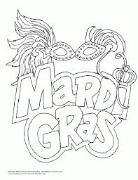 Small Picture Mardi Gras Coloring Pages For Adults Archives New Mardi Gras