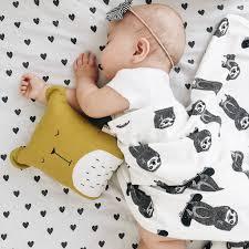 monochrome sloth blanket nursery accessory