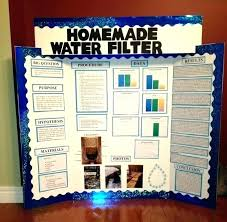 Science Project Poster Layout Display Board Fair Template