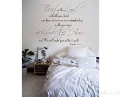 religious quote vinyl wall decal trust
