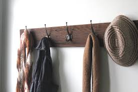 Decorative Wall Coat Racks Coat Racks inspiring wood wall coat rack Entryway Coat Hooks Wood 94