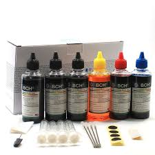 Amazon Com Bch Standard 600 Ml Refill Ink Kit For All Printers