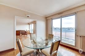 dining with eiffel tower view. for sale apartment eiffel tower view in paris 16 janson-de-sailly dining with