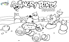 Small Picture Angry Birds Halloween PrintablesBirdsPrintable Coloring Pages