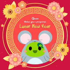 #lunarnewyear #chinesenewyear we will celebrate our lunar new year on february 11st, and we'll start the year of the ox. Greeting Chinese Gif By Qoo10 Singapore Find Share On Giphy