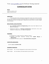 2 Year Experience Resume Format For Software Developer Resume